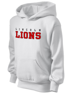 Lincoln Elementary School Lions Kid's Hooded Sweatshirt
