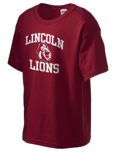 Lincoln Elementary School Lions Kid's 6.1 oz Ultra Cotton T-Shirt