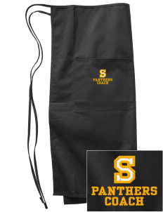 Shadybend Elementary School Panthers Embroidered Full Bistro Bib Apron