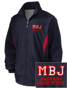 Mildred B Janson Elementary School Jaguars Embroidered Holloway Men's Full-Zip Jacket
