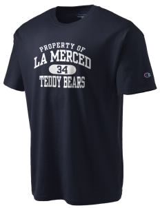 La Merced Elementary School Teddy Bears Champion Men's Tagless T-Shirt