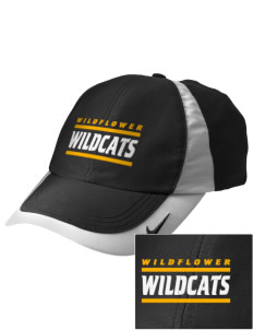 Wildflower Elementary School Wildcats Embroidered Nike Golf Colorblock Cap