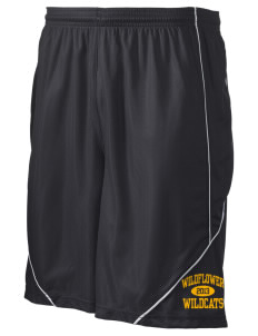 "Wildflower Elementary School Wildcats Men's Pocicharge Mesh Reversible Short, 9"" Inseam"