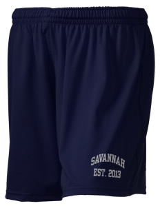 "Savannah Elementary School Dolphins Holloway Women's Performance Shorts, 5"" Inseam"