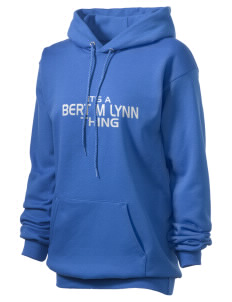 Bert M Lynn Middle School Leopards Unisex Hooded Sweatshirt