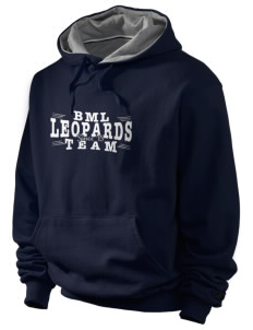 Bert M Lynn Middle School Leopards Champion Men's Hooded Sweatshirt