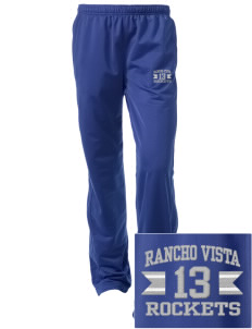 Rancho Vista Elementary School Rockets Embroidered Women's Tricot Track Pants