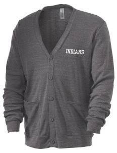 Hart High School Indians Men's 5.6 oz Triblend Cardigan