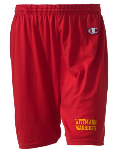 "Wittmann Elementary School Warriors  Champion Women's Gym Shorts, 6"" Inseam"