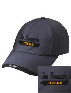 San Fernando High School Tigers Embroidered OGIO X-Over Cap