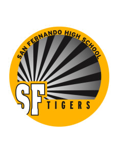 San Fernando High School Tigers Sticker