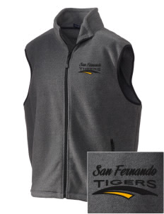 San Fernando High School Tigers Embroidered Unisex Wintercept Fleece Vest