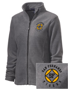 San Fernando High School Tigers Embroidered Women's Wintercept Fleece Full-Zip Jacket