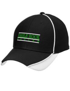 Eagle Rock High School Eagles Embroidered New Era Contrast Piped Performance Cap