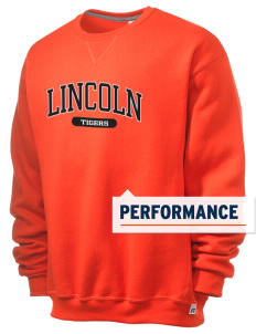 Lincoln High School Tigers  Russell Men's Dri-Power Crewneck Sweatshirt