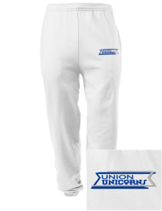 Union Elementary School Unicorns Embroidered Men's Sweatpants with Pockets