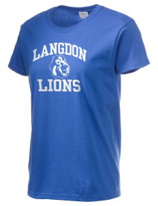 Langdon Elementary School Lions Women's 6.1 oz Ultra Cotton T-Shirt