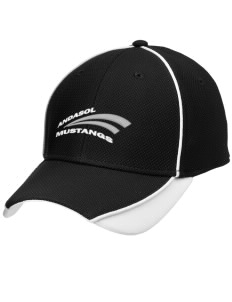 Andasol Elementary School Mustangs Embroidered New Era Contrast Piped Performance Cap