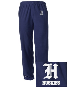 Hazeltine Elementary School Huskies Embroidered Holloway Men's Flash Warmup Pants