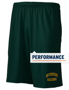 "Riverside Elementary School Raccoons Holloway Men's Performance Shorts, 9"" Inseam"