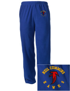 Neil Cummins Elementary School Hawks Embroidered Holloway Men's Flash Warmup Pants