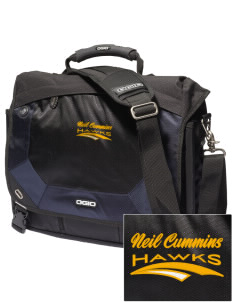 Neil Cummins Elementary School Hawks Embroidered OGIO Jack Pack Messenger Bag