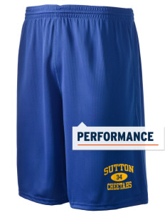 "Sutton Elementary School Cheetahs Holloway Men's Speed Shorts, 9"" Inseam"