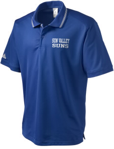 Sun Valley Elementary School Suns adidas Men's ClimaLite Athletic Polo