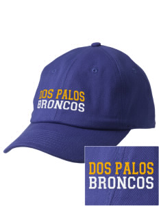 Dos Palos High School Broncos Embroidered Champion 6-Panel Cap