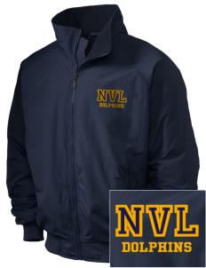 Napa Valley Language Center Dolphins Embroidered Holloway Men's Tall Jacket