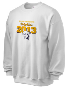 Napa Valley Language Center Dolphins Ultra Blend 50/50 Crewneck Sweatshirt