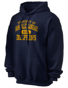 Napa Valley Language Center Dolphins Ultra Blend 50/50 Hooded Sweatshirt