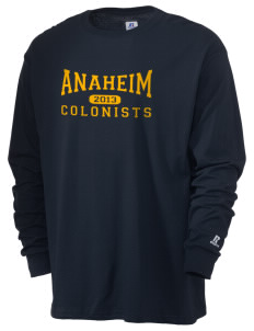 Anaheim High School Colonists  Russell Men's Long Sleeve T-Shirt