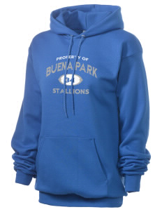Buena Park Junior High School Stallions Unisex 7.8 oz Lightweight Hooded Sweatshirt