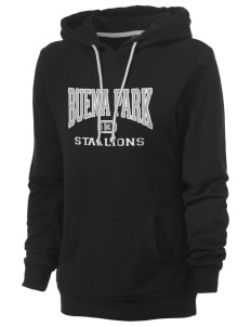 Buena Park Junior High School Stallions Women's Core Fleece Hooded Sweatshirt