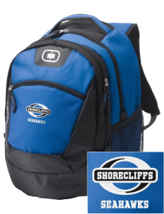 Shorecliffs Middle School Seahawks Embroidered OGIO Rogue Backpack
