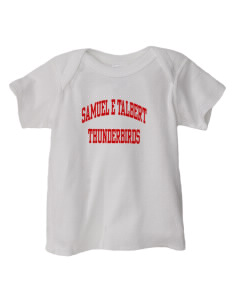 Samuel E Talbert Middle School Thunderbirds  Baby Lap Shoulder T-Shirt
