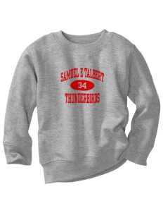 Samuel E Talbert Middle School Thunderbirds Toddler Crewneck Sweatshirt