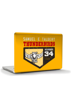 "Samuel E Talbert Middle School Thunderbirds Apple MacBook Pro 15"" & PowerBook 15"" Skin"