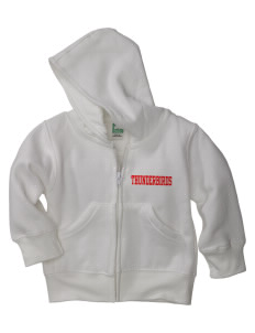 Samuel E Talbert Middle School Thunderbirds Baby Full Zip Hoodie