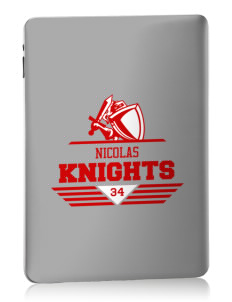 Nicolas Junior High School Knights Apple iPad Skin