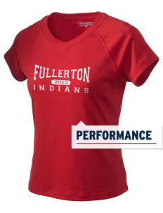 Fullerton High School Indians Champion Women's Wicking T-Shirt