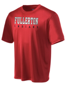 Fullerton High School Indians Champion Men's Wicking T-Shirt
