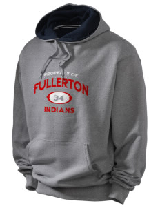 Fullerton High School Indians Champion Men's Hooded Sweatshirt