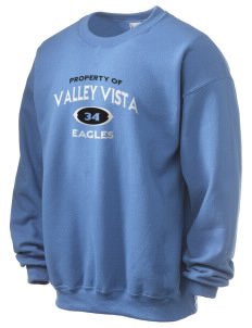 Valley Vista High School Eagles Ultra Blend 50/50 Crewneck Sweatshirt