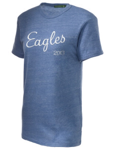 Valley Vista High School Eagles Embroidered Alternative Unisex Eco Heather T-Shirt