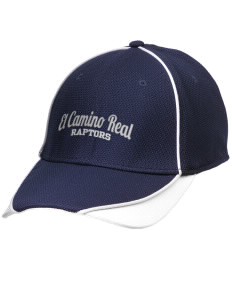 El Camino Real High School Conquistodores Embroidered New Era Contrast Piped Performance Cap