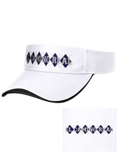 El Camino Real High School Conquistodores Embroidered Binding Visor
