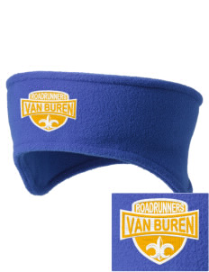 Van Buren Elementary School Roadrunners Embroidered Fleece Headband