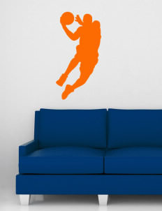 "Valencia Elementary School Oranges Wall Silhouette Decal 20"" x 32"""